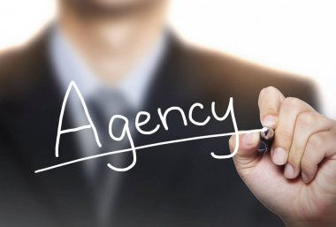 agency written by hand