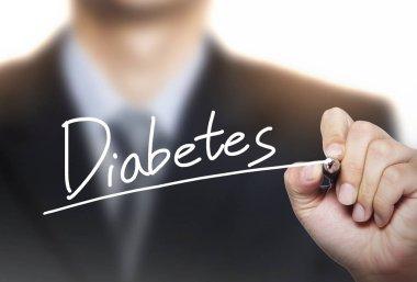 diabetes written by hand