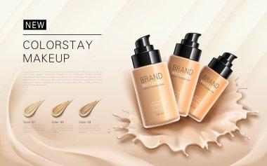Elegant foundation ads
