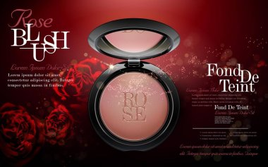 Charming rose blush ads
