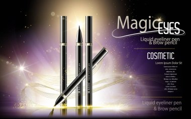 Eyeliner pen ads