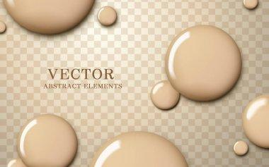 Attractive foundation texture