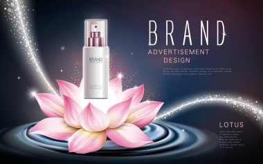 lotus cosmetic product
