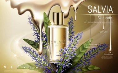 salvia skin care