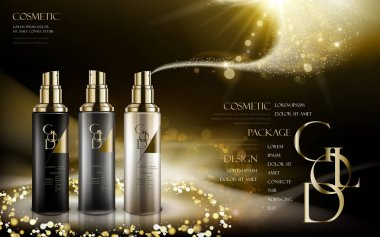 golden cosmetic products
