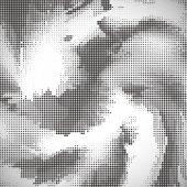 Vzorek polotónů abstraktní