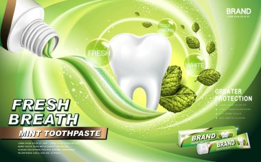 mint toothpaste ad