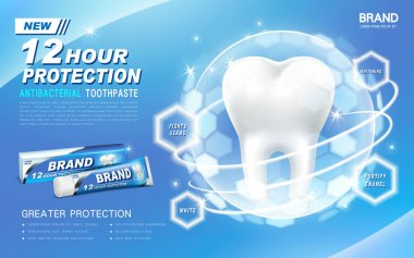 antibacterial toothpaste ad