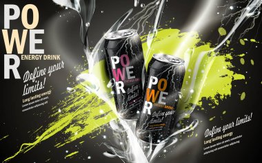 power drink bicolor
