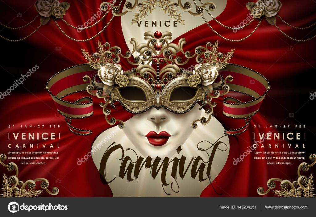 Venice Carnival poster — Stock Vector © kchungtw #143204251