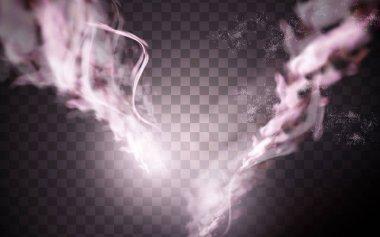 pink smoke element