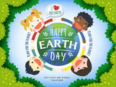 Fotografie Abbildung der Erde-Tag
