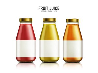 bottled juice elements