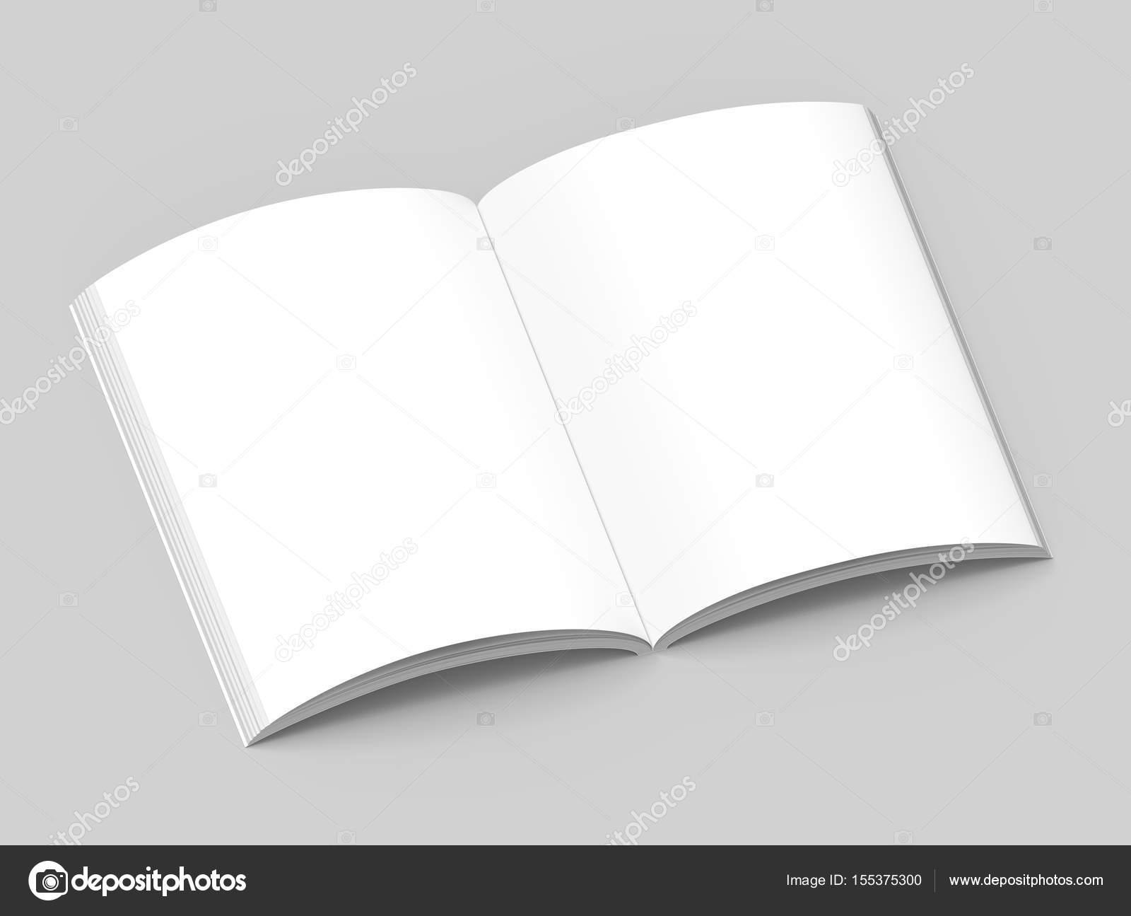Leere Hardcover-Buch-Vorlage — Stockfoto © kchungtw #155375300