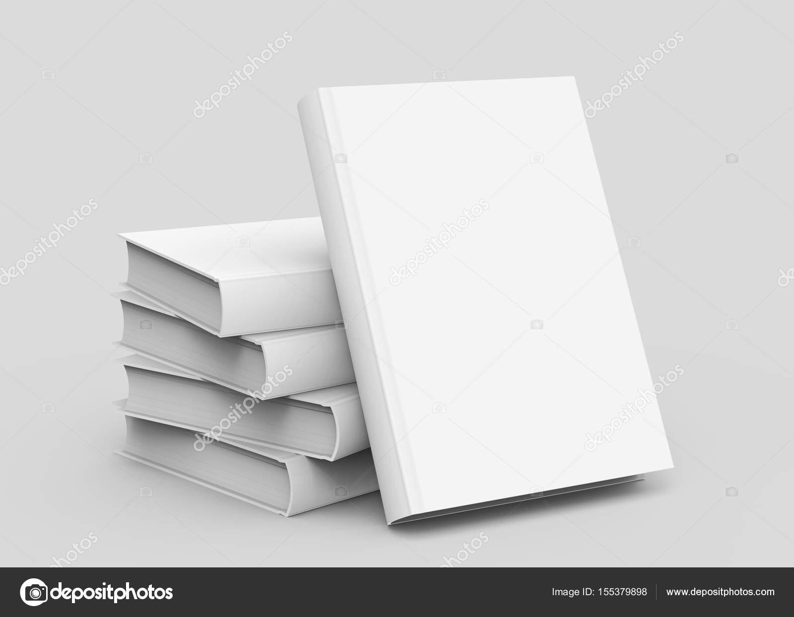 Modele De Livre Blanc Couverture Rigide Photographie