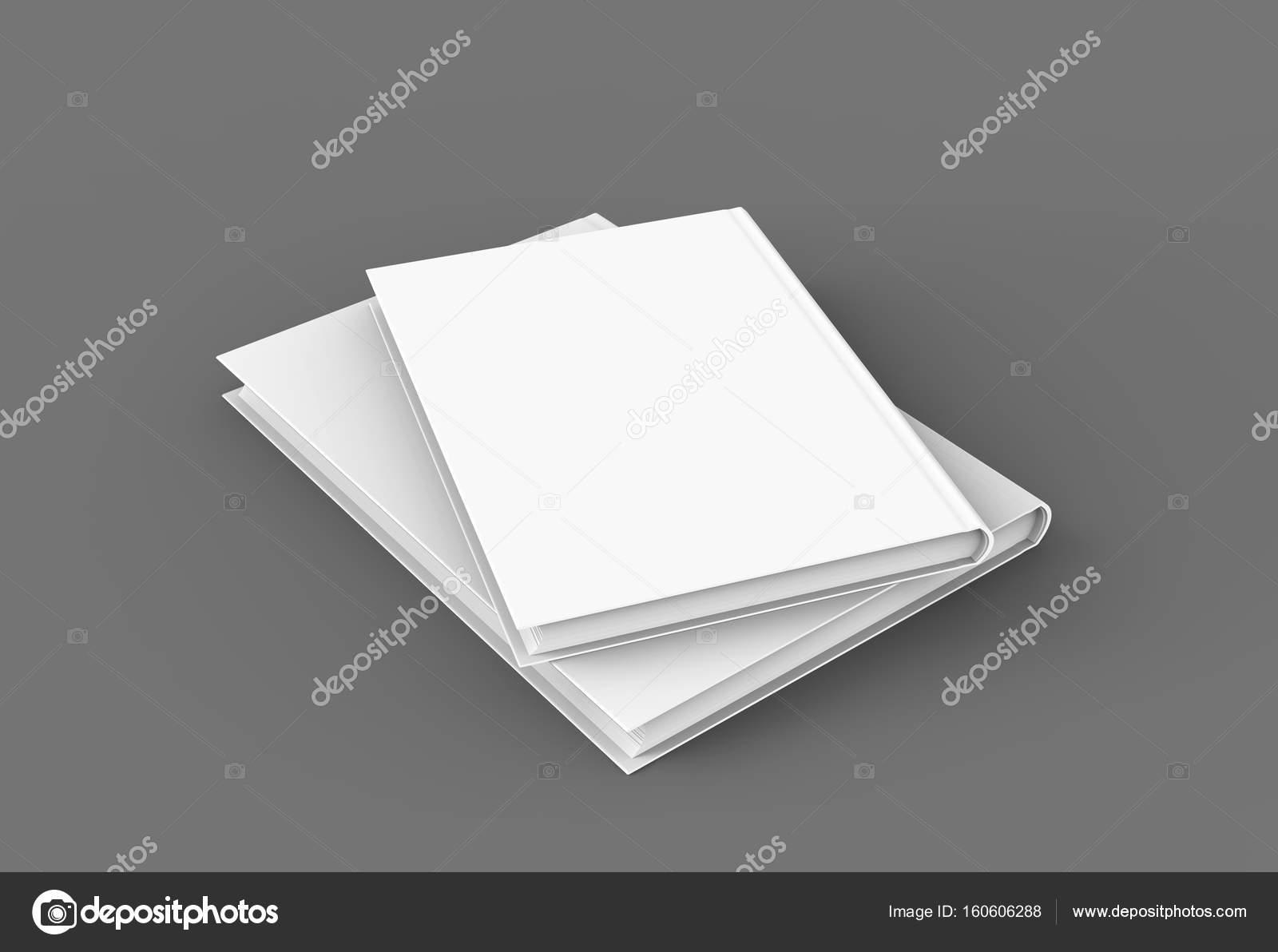 Hardcover-Bücher-Vorlage — Stockfoto © kchungtw #160606288