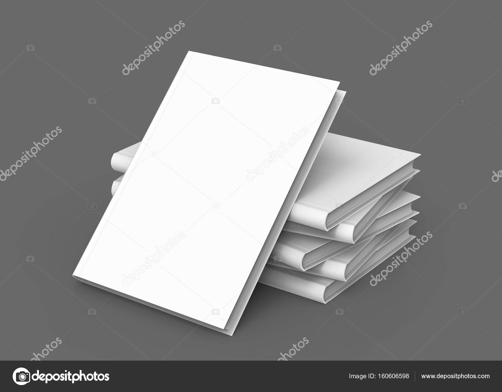 Hardcover-Bücher-Vorlage — Stockfoto © kchungtw #160606598