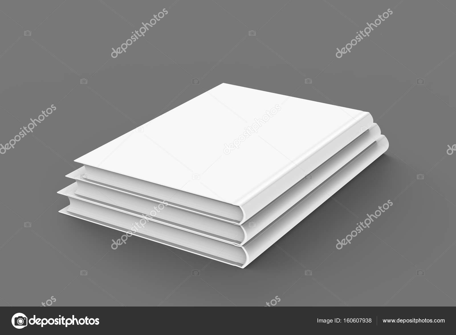 Hardcover-Bücher-Vorlage — Stockfoto © kchungtw #160607938