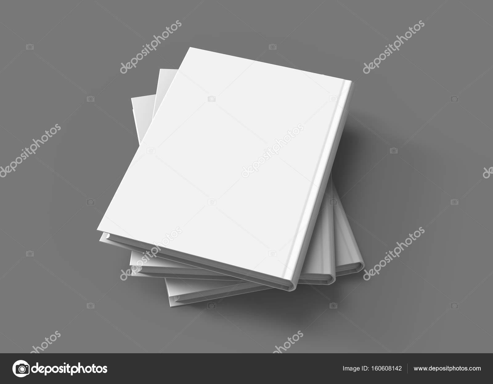 Hardcover-Bücher-Vorlage — Stockfoto © kchungtw #160608142