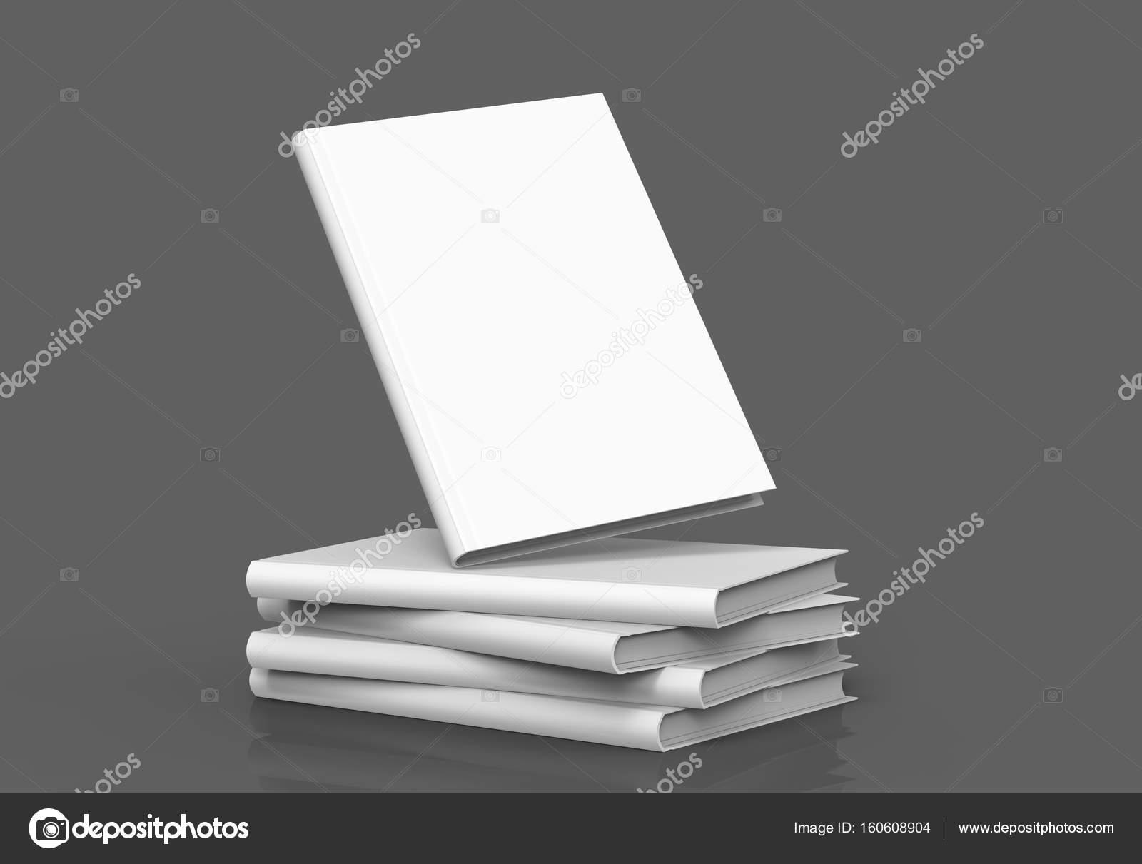 Hardcover-Bücher-Vorlage — Stockfoto © kchungtw #160608904