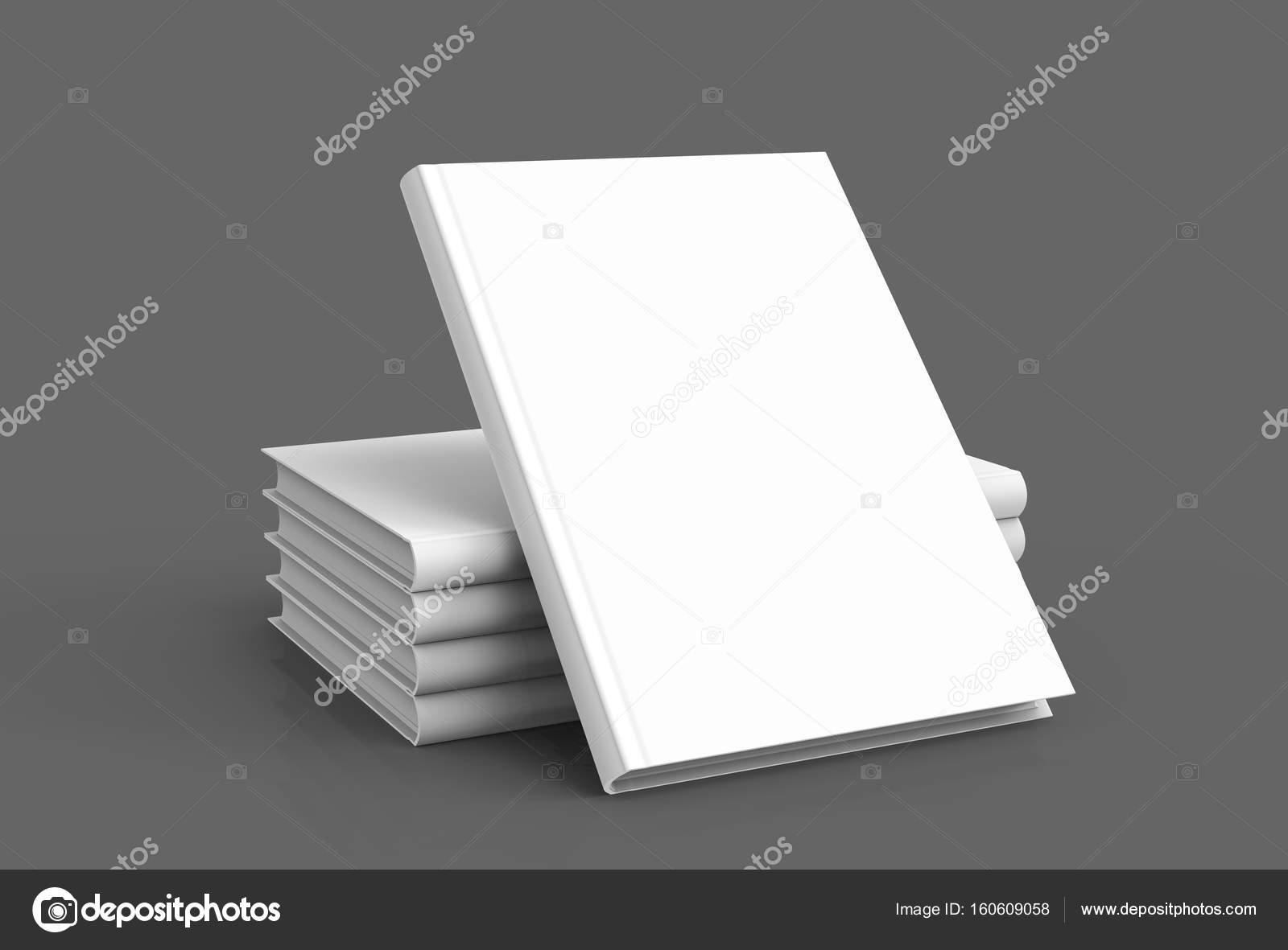 Hardcover-Bücher-Vorlage — Stockfoto © kchungtw #160609058