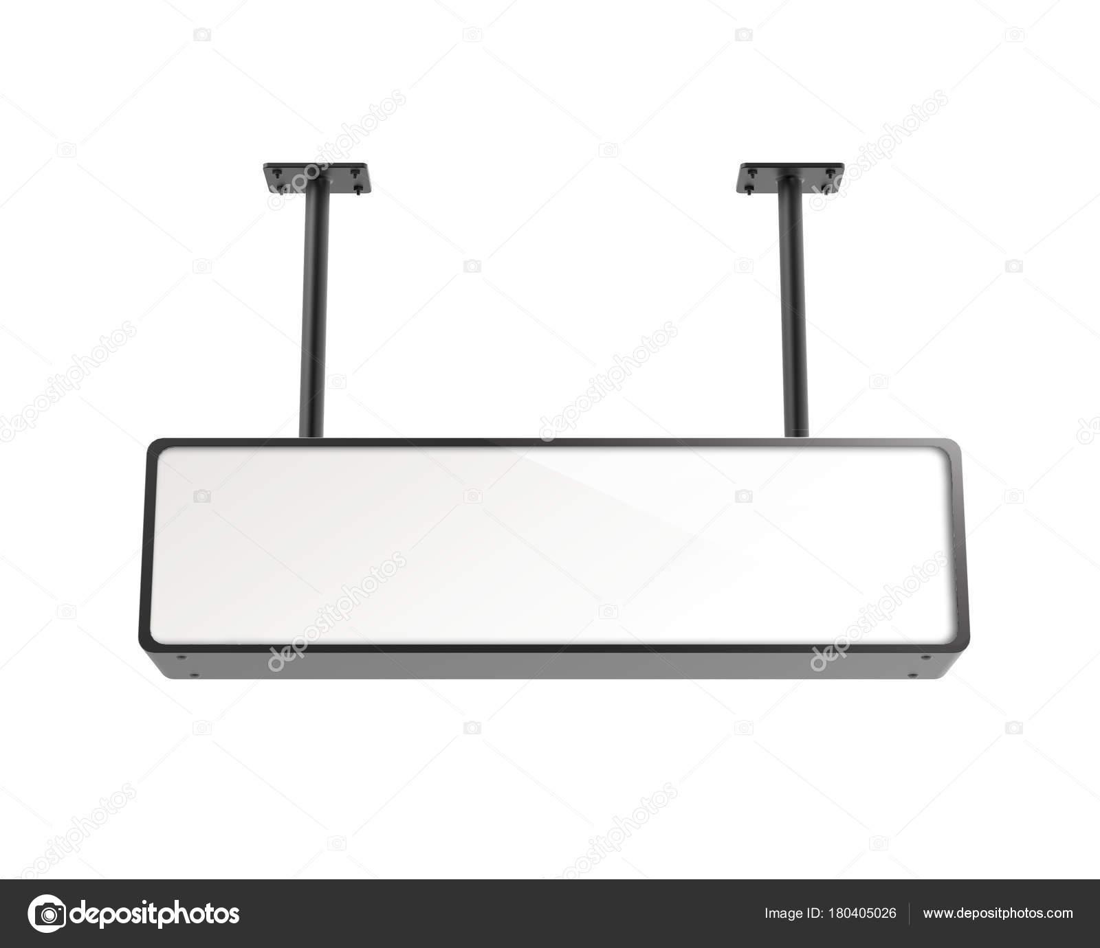 hanging lightbox template stock photo kchungtw 180405026