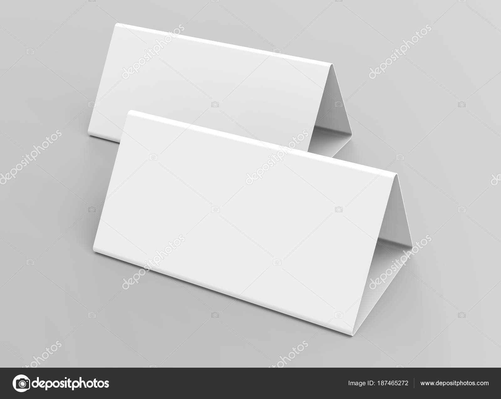 Blank Table Tent Render Table Card Set Mockup Design Uses Stock - Table tent card stock
