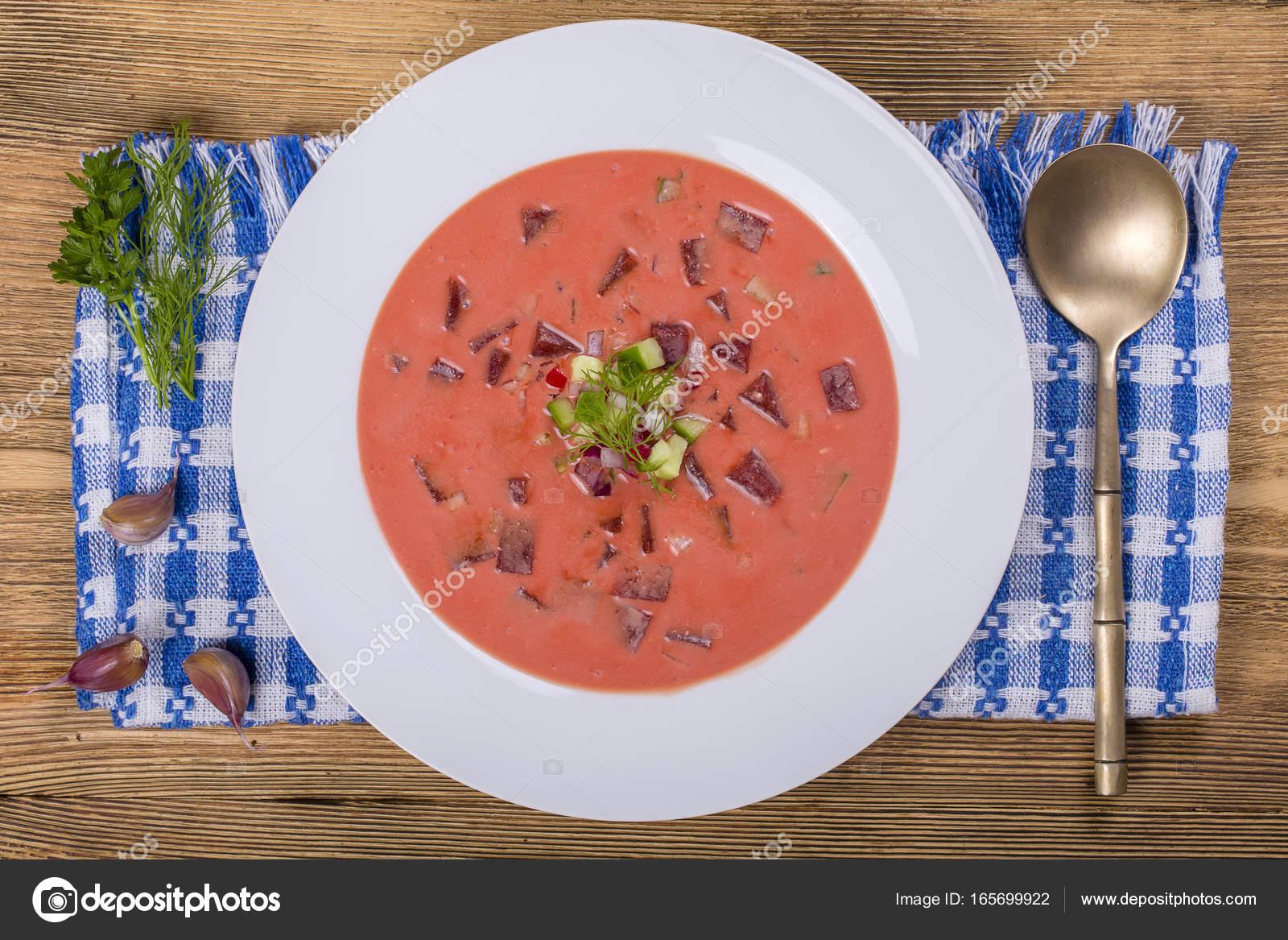 groentesoep met ei