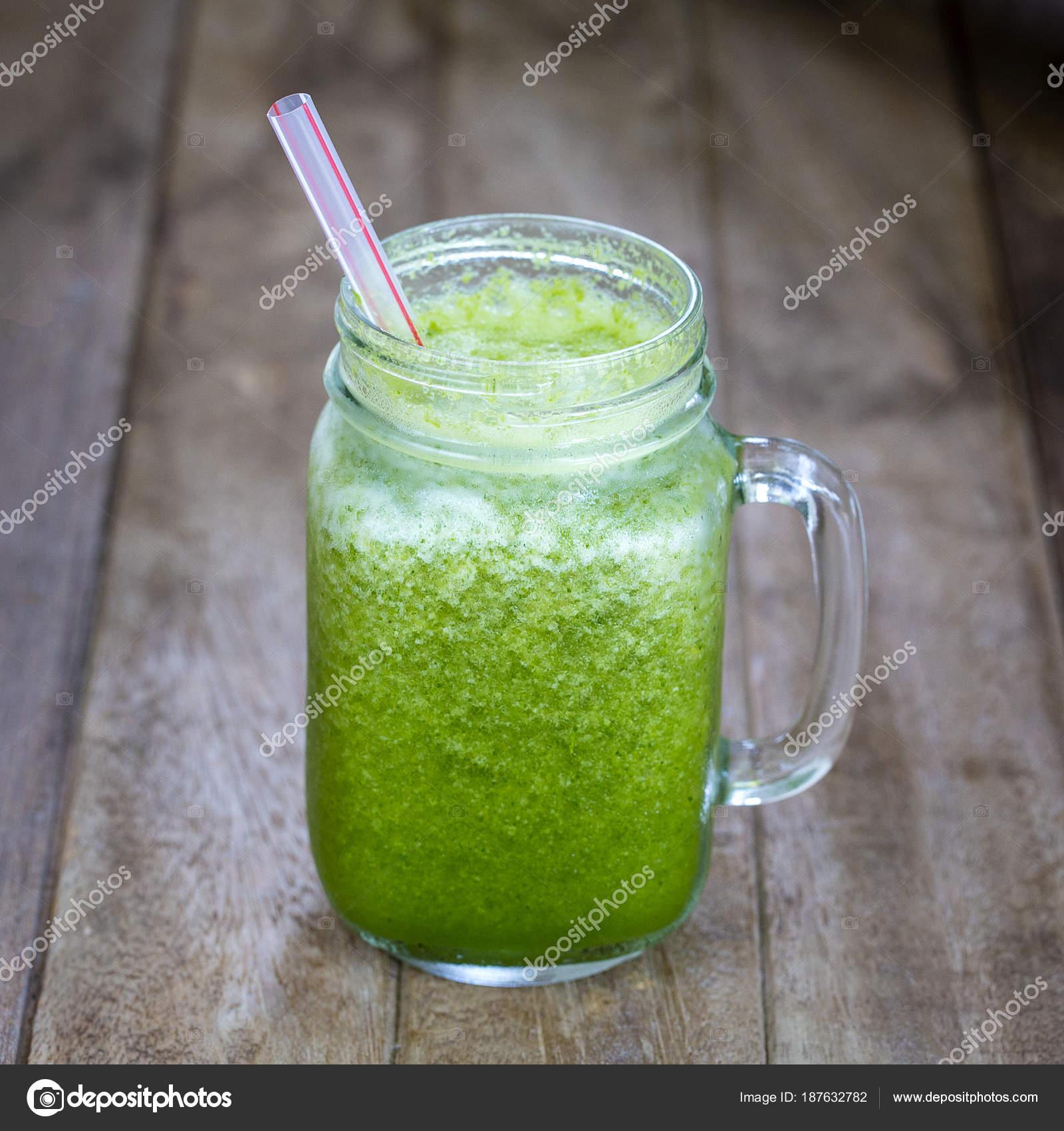 juice med avokado