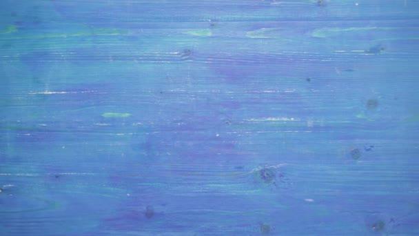 Kék fa háttér mozgás. 4k, Uhd