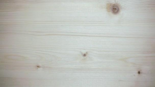 Čisté světlo dřevěné pozadí v pohybu, 4k Uhd