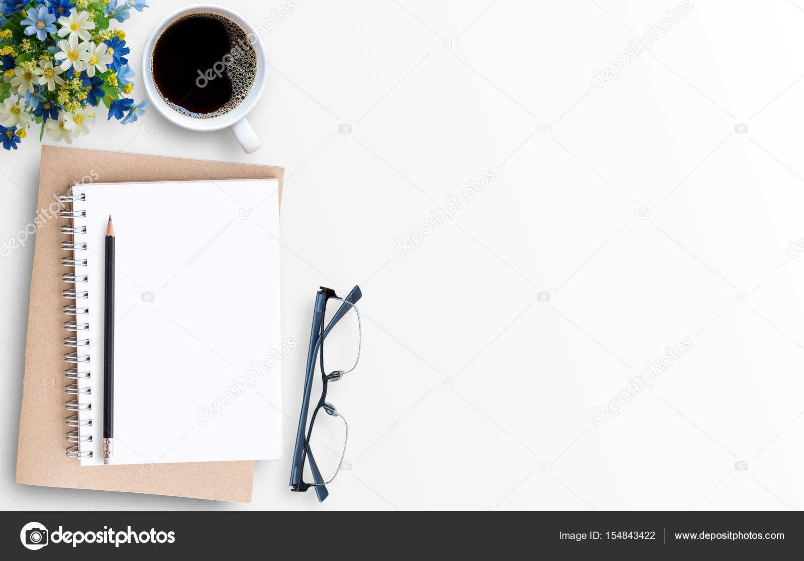 White Minimal Office Desk Table With Laptop Computer U2014 Stock Photo