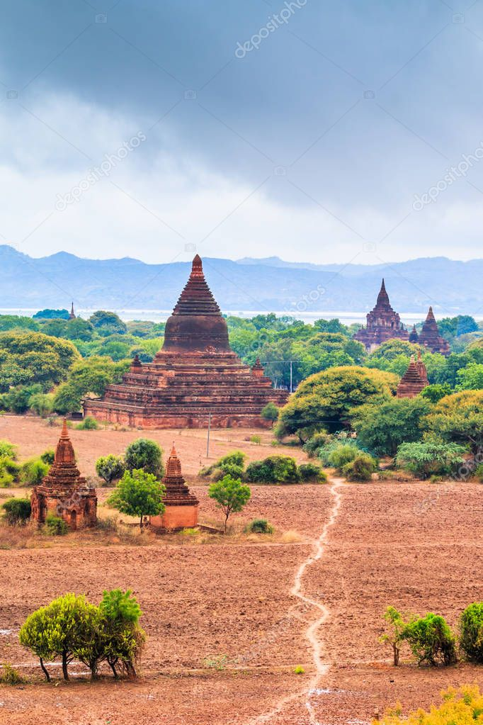 Bagan city at Shan State
