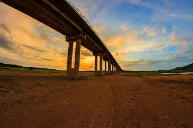 Viaduct in lop buri, Thailand