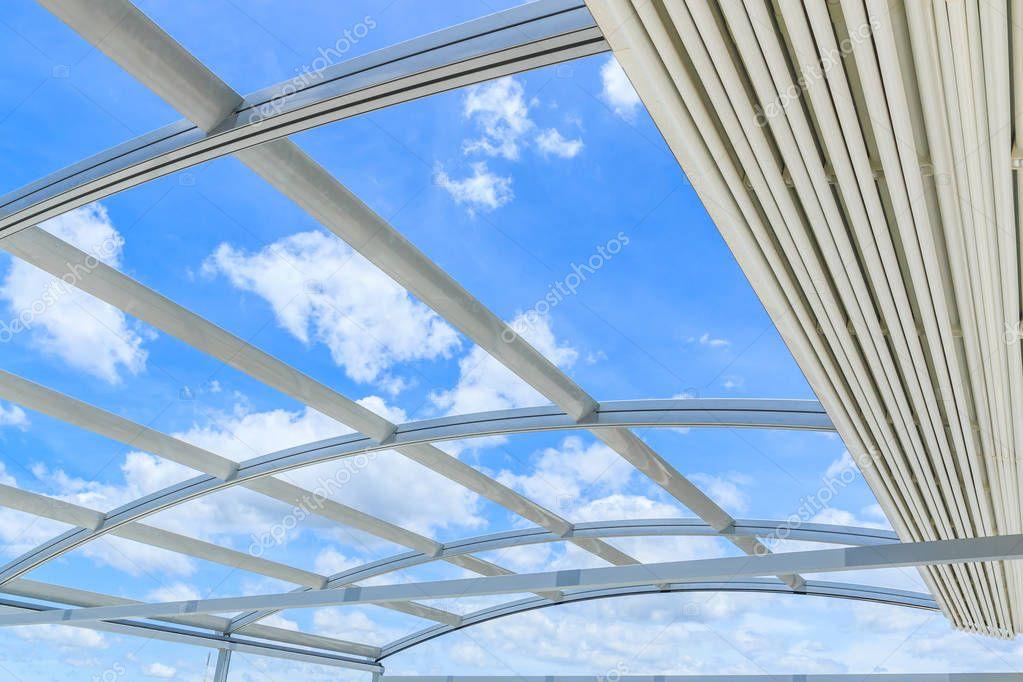 Steel aluminum roof