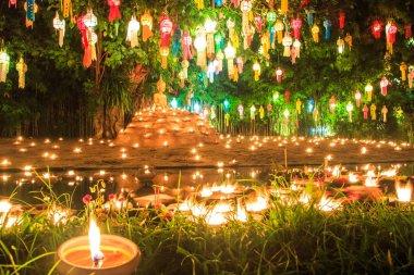 Buddha in Wat Phan Tao temple