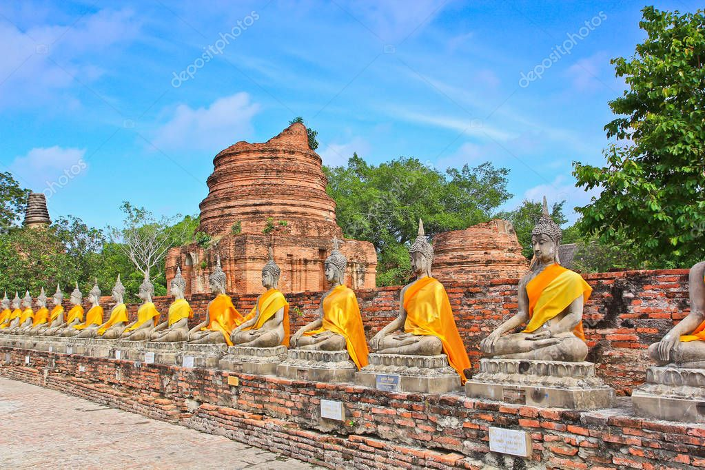 Temple of Ayuthaya, Thailand