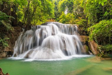 "Картина, постер, плакат, фотообои ""водопад хуай мэй камин постеры цветы фотографии природа"", артикул 161384502"