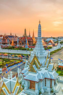 Bangkok city Temple
