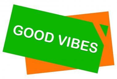 good vibes web Sticker Button