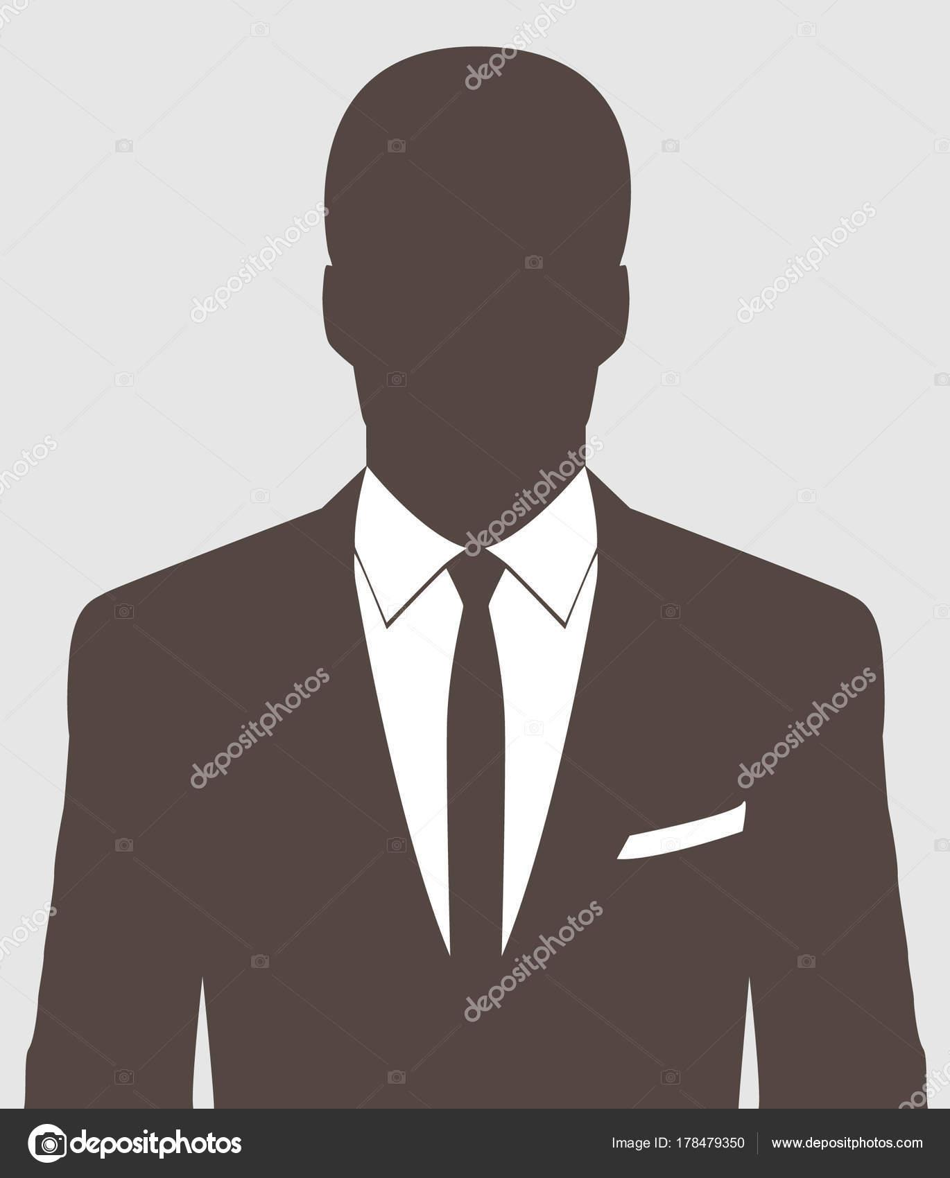 Unbekannte Person Silhouette Profilbild Silhouette Profil ...
