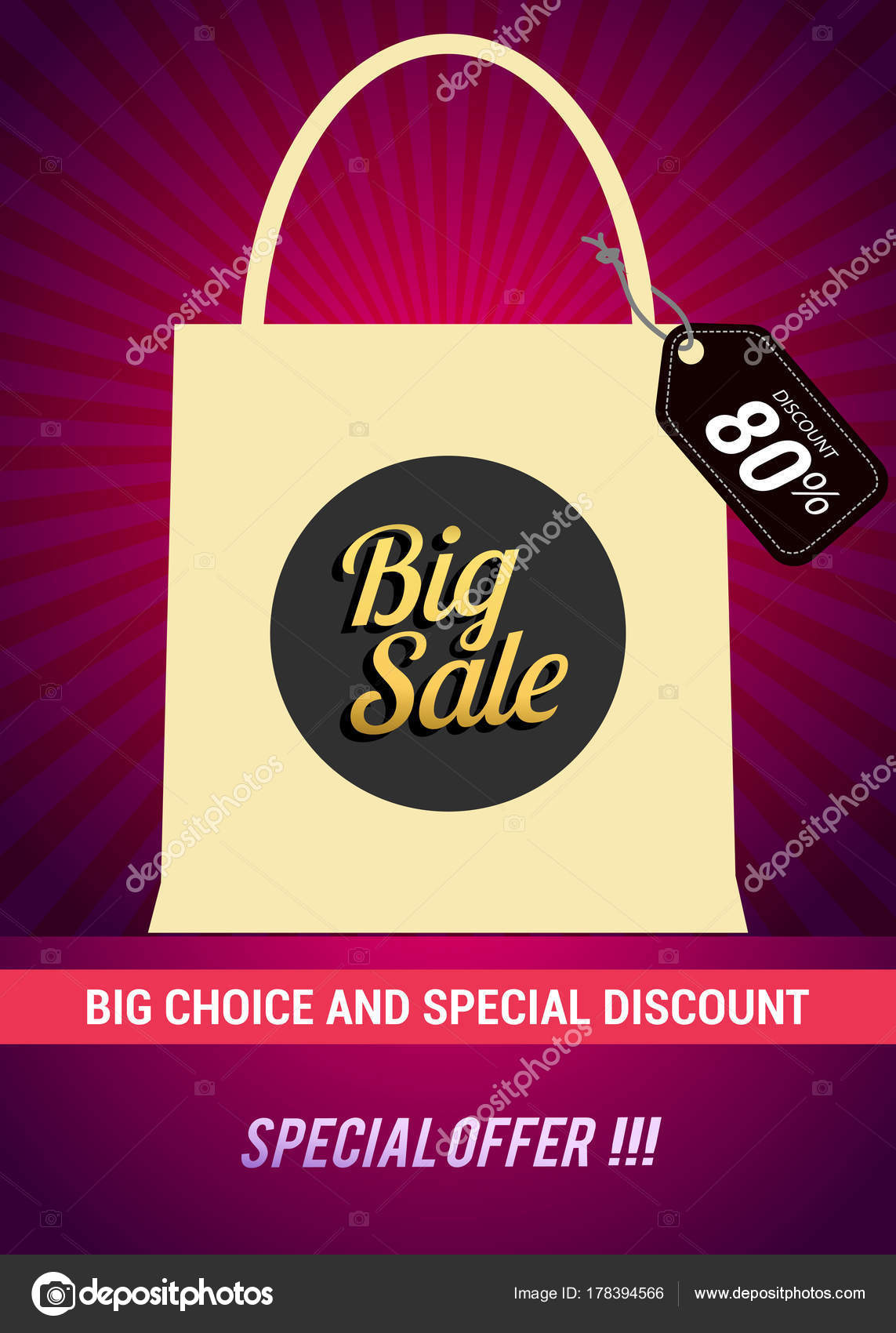 80 big sale discount vector design for banner flyer and brochure for event promotion business or department store vector by vectorideas
