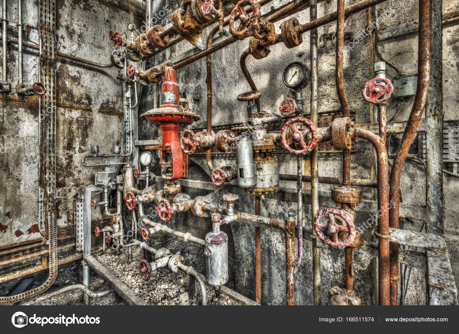 Derelict Boiler Room