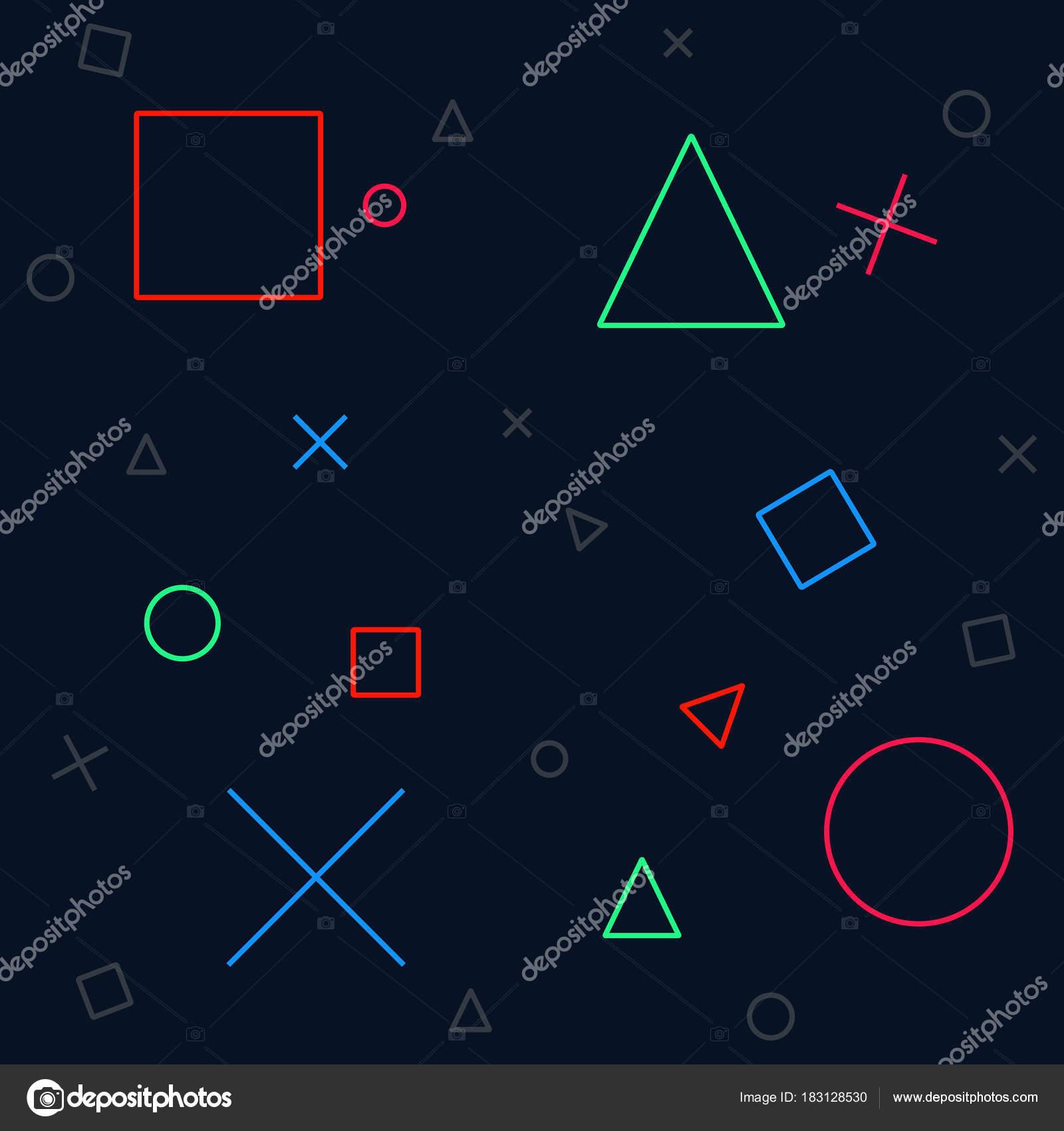 Background Gaming Vector Icon Illustration Stock Vector C Babiy