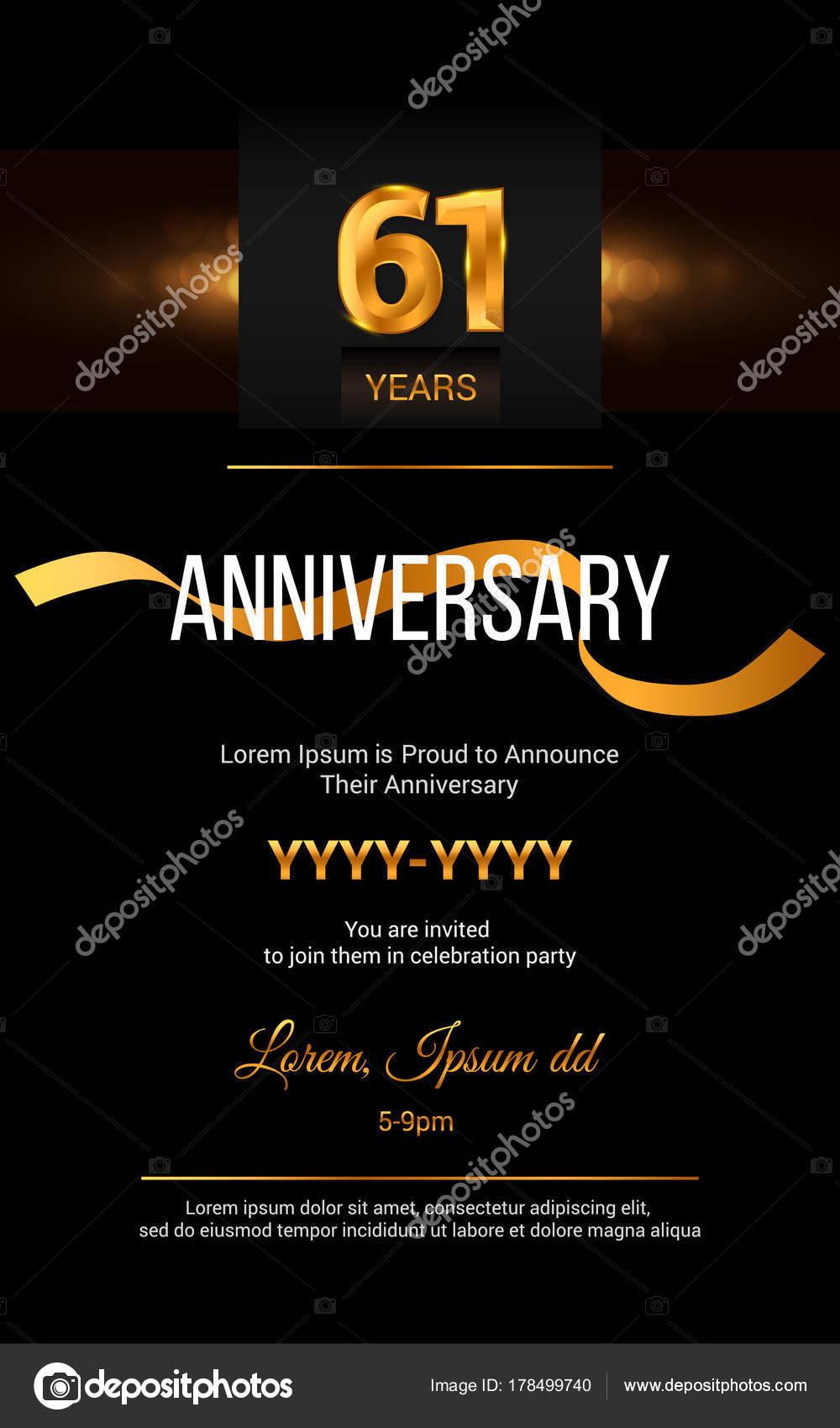 Invitaciones Aniversario Empresarial Tarjeta De Invitación
