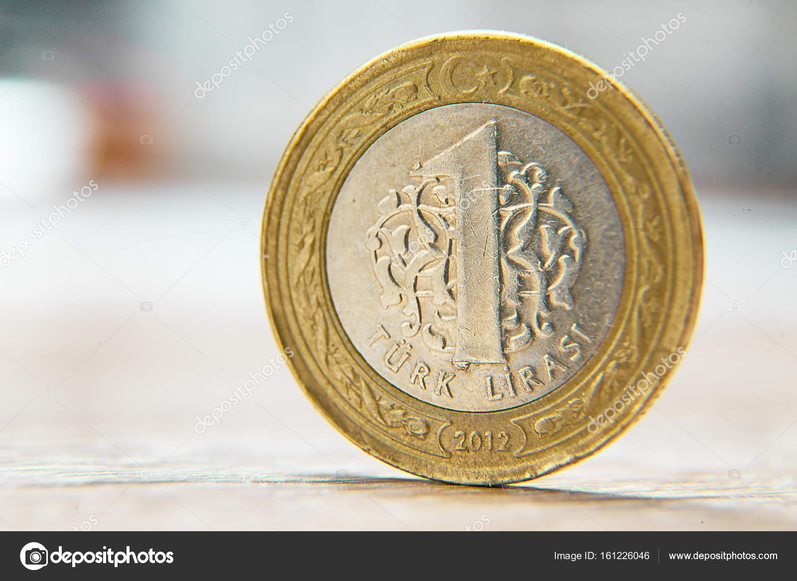 Türkische Lira Münzen Stockfoto Jasastyle 161226046