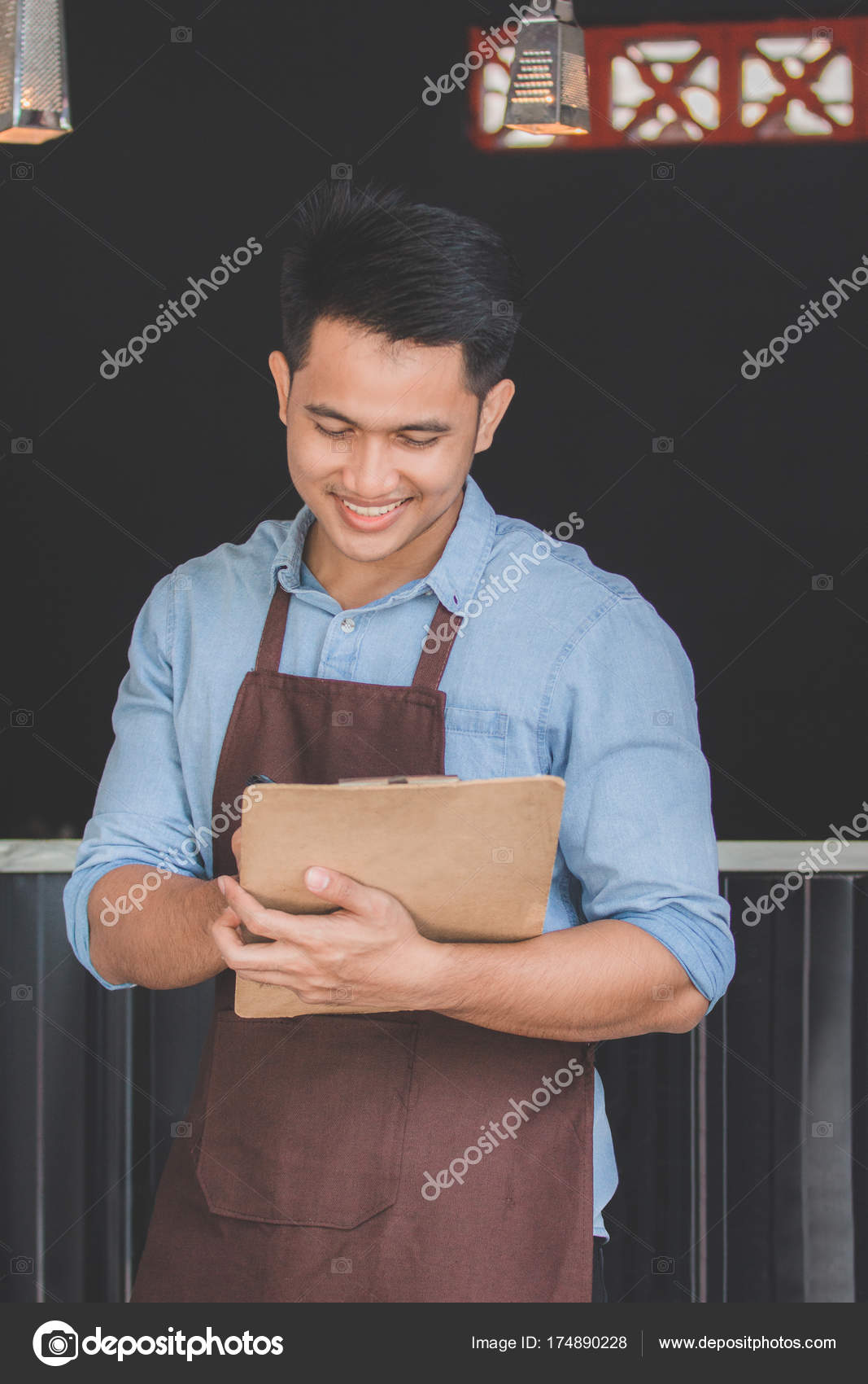 Männliche Bestellung