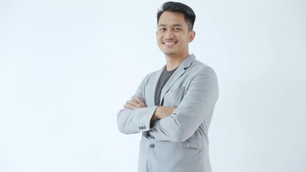 Asijský mladý podnikatelský koncept