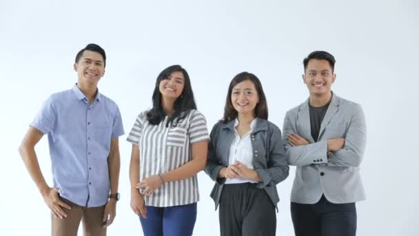 Gruppe junger Geschäftskonzepte