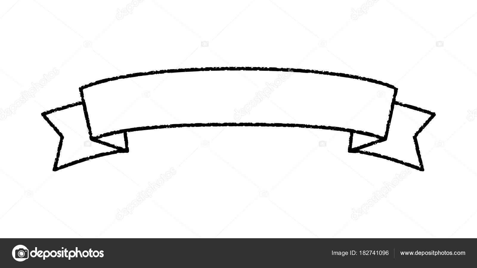 single blank vintage ribbon banner vector logo design stock vector rh depositphotos com vintage vector banner with watercolor flowers vintage banner vector png